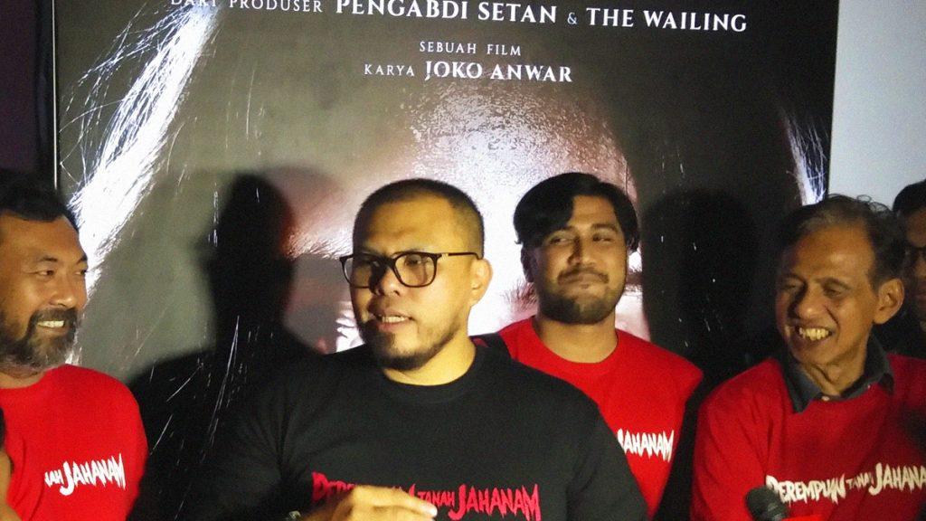 Joko Anwar Bersama Para Pemeran Film Perempuan Tanah Jahanam