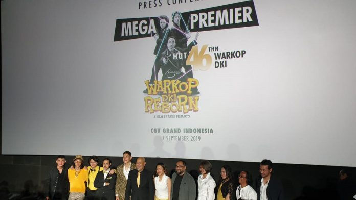 Tiket Mega Premiere Warkop DKI Reborn Part 3 Habis Terjual