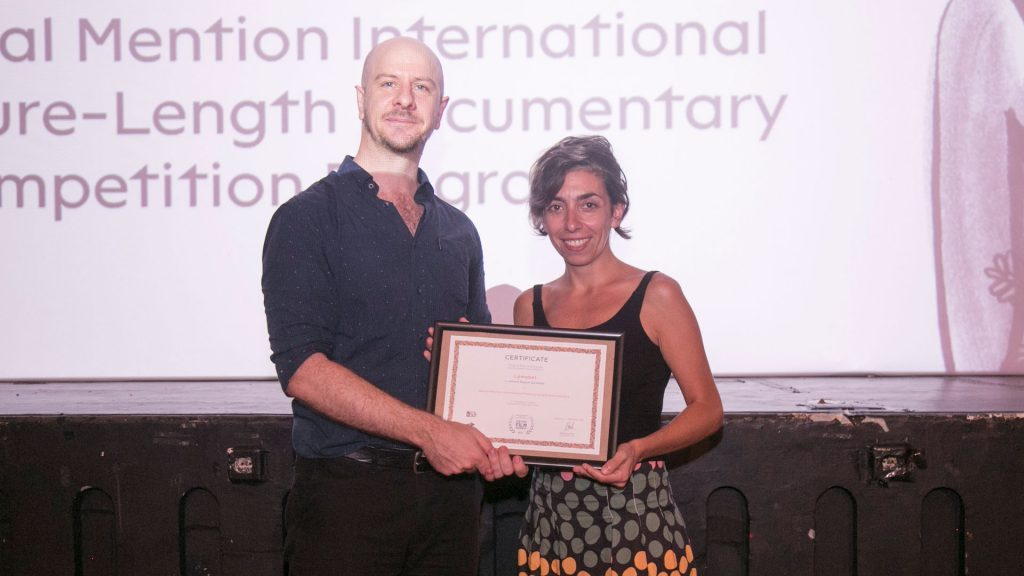 Thomas Barker mewakili juri Kompetisi Festival Film Dokumenter 2019
