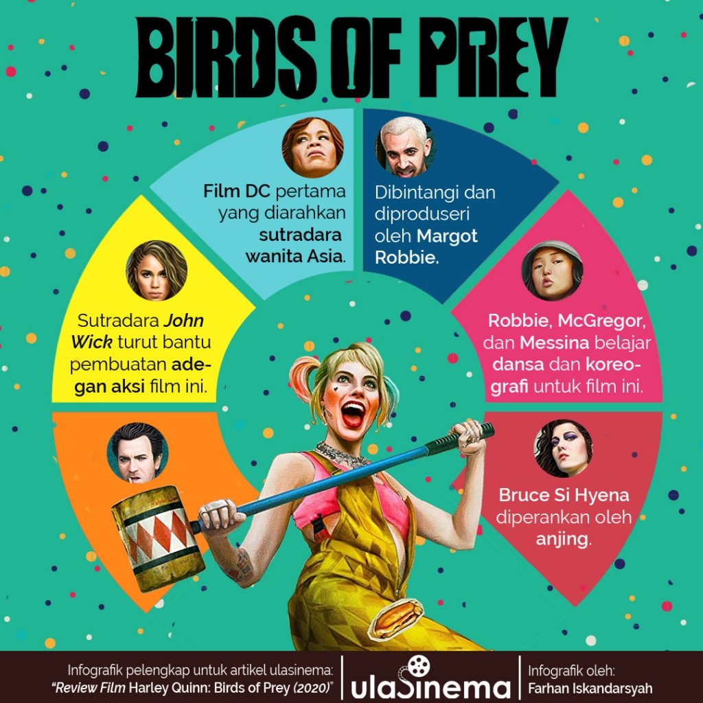 infografik birds of prey ulasinema