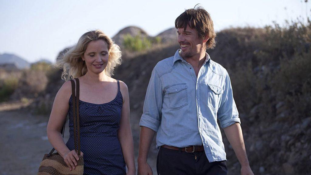 Julie Delpy dan Ethan Hawke dalam Before Midnight (2013)