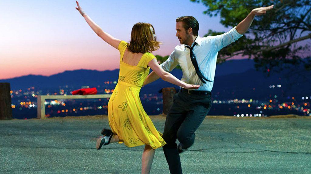 Emma Stone dan Ryan Gosling dalam La La Land (2016)