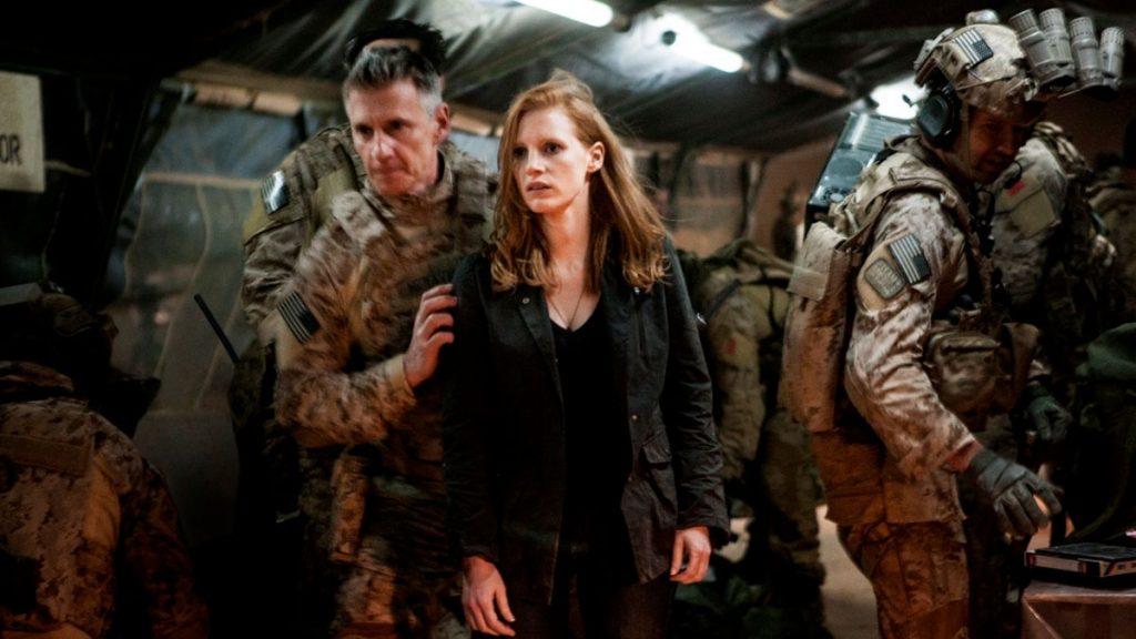 Jessica Chastain dalam Zero Dark Thirty (2012)