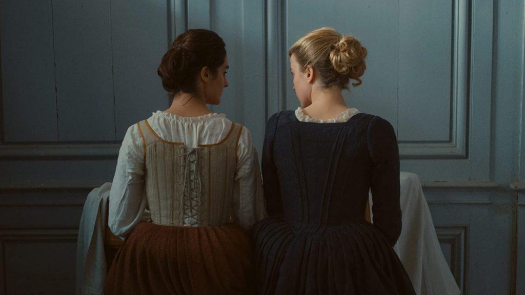 Noémie Merlant dan Adèle Haenel dalam Portrait of a Lady on Fire (2019)