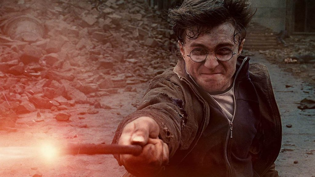 Daniel Radcliffe dalam Harry Potter and the Deathly Hallows Part 2 (2012)