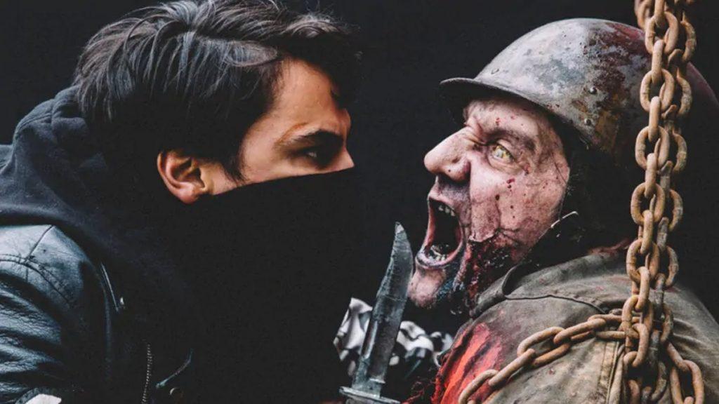 Kiowa Gordon berperan sebagai Lysol dalam Blood Quantum (2019)