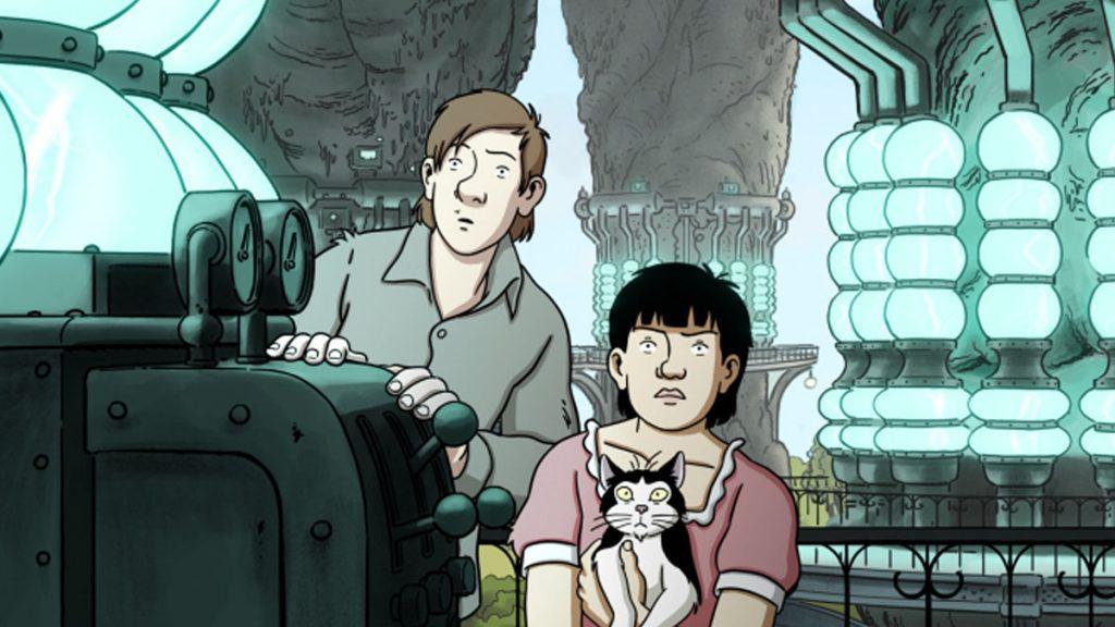 Rekomendasi Film Keluarga (Bagian 2) - April and the Extraordinary World (2015)